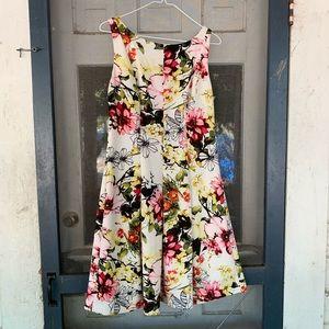 Ladies American Living Floral Sleeveless Dress